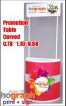 promotion table curved 08C e75